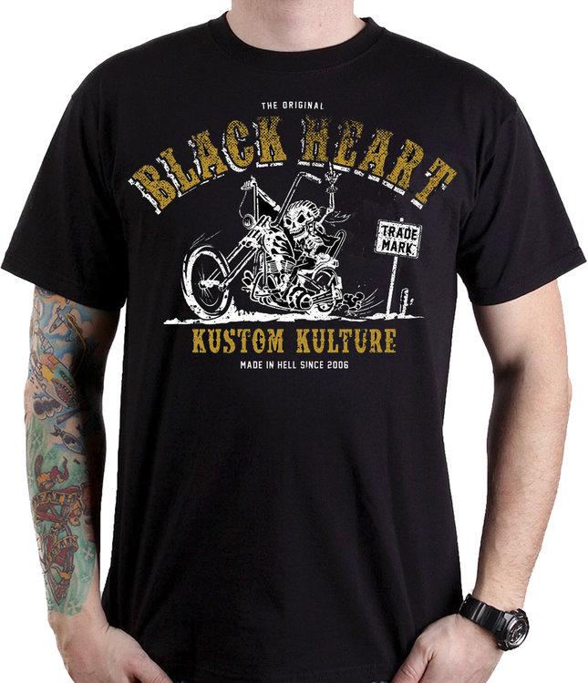 BLACK HEART BIKER FUCKER