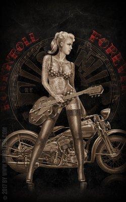 Poster - Rock'n'Roll Forever