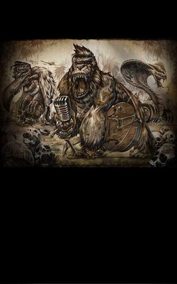 Poster - Rockabilly Beasts