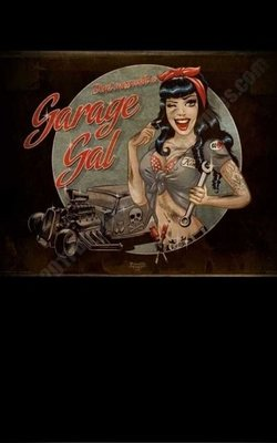 Poster - Garage Gal